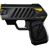 Taser Pulse with laser, LED, 1 soft holster, lithium power (battery pack), and target.