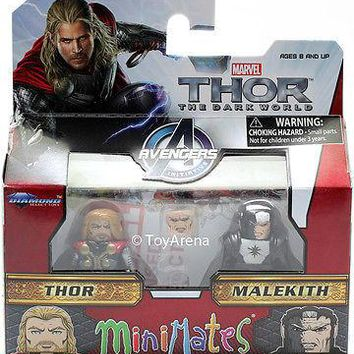 Marvel Minimates Series 53 Thor and Malekith 2-Pack Action Figure