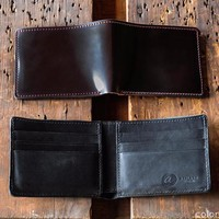 Johnny the Fox - Shell Cordovan Bifold Wallet