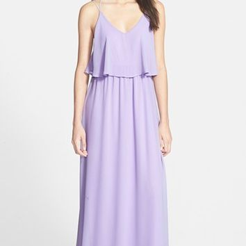 Junior Women's Everly Popover Maxi Dress
