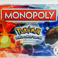 Pokemon - Kanto Monopoly Board Game