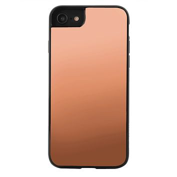 Rose Gold Reflective Mirror iPhone Case
