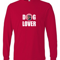Rottweiler  Long Sleeve Red Unisex Adult Medium