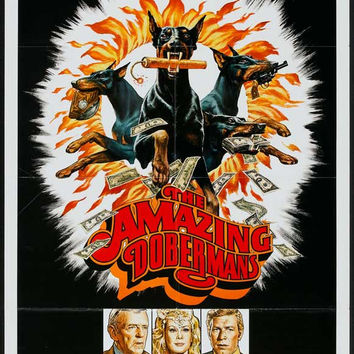 The Amazing Dobermans 11x17 Movie Poster (1976)