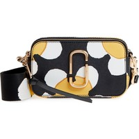 MARC JACOBS Snapshot Daisy Print Leather Crossbody Bag | Nordstrom