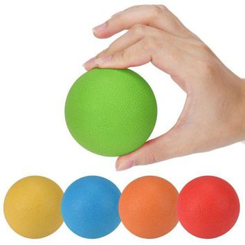 NOVO5 6.5 CM Rubber Ball Massage Trigger Points Body  Health Care Pain Relief Muscular