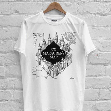 Harry Potter Marauder's Map T-shirt Men, Women Youth and Toddler