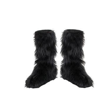Furry Boot Covers costume Accessories