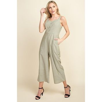 Happy Me Cropped Jumpsuit