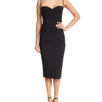 Dionella Spaghetti Strap Sweetheart Cocktail Dress, Size: