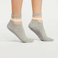 Sheer Studio Grip Sock