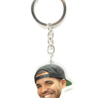 Drizzy Drake with a SnapBack Inspired Keychain