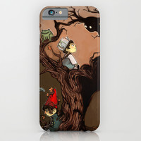 Over The Garden Wall- Wirt, Greg, Beatrice, and The Beast iPhone & iPod Case by Merrigel
