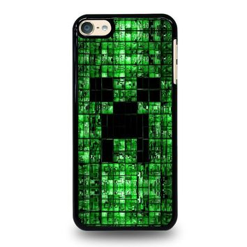 CREEPER MINECRAFT 3 iPod Touch 4 5 6 Case Cover