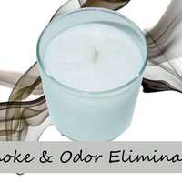 Smoke and Odor Eliminator Scented Candle in Tumbler 13 oz
