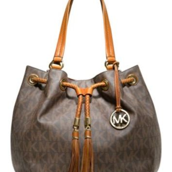 Michael Kors Frankie Large Drawstring Convertible Shoulder Bag Macys