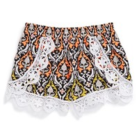 Girl's Flowers by Zoe Lace Shorts,