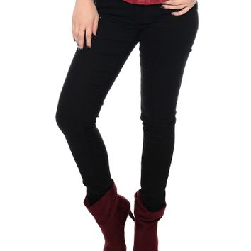 Black All Night Long Skinny Jeans | $11.50 | Cheap Trendy Jeans Chic Discount Fashion for Women | M