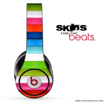 Colorful Striped 4 Skin for the Beats by Dre