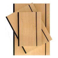Purist Wood Journals Lined in three sizes