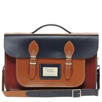 "The Leather Satchel Company 14"" Satchel at asos.com"