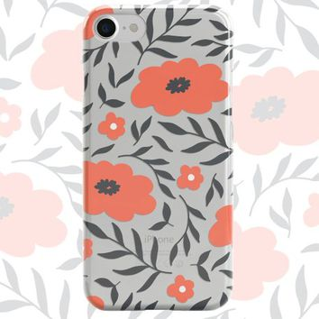 Floral iPhone Case iPhone X Case iPhone 8 Case iPhone 8 Plus Case iPhone 7 Case iPhone 7 Plus Case iPhone 6S Case 6S Plus Case Bouquet case