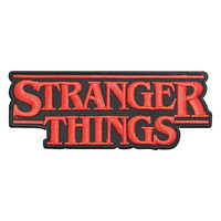 Stranger Things Logo Iron-On Patch