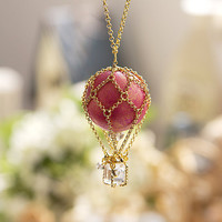 N0028 // Pink Balloon Necklace // Family Gift by queenspark