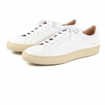 COMMON PROJECTS Original Vintage Low White - Hunting and Collecting Select Store