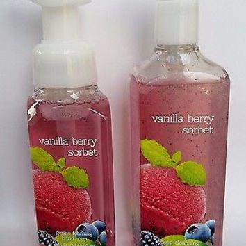 Bath & Body Works VANILLA BERRY SORBET Gentle Foaming / Deep Cleansing HANDSOAP