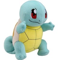 "NEW Pikachu Pokemon blue Squirtle Turtle 30cm/12"" Soft Plush Doll Toy Gift"