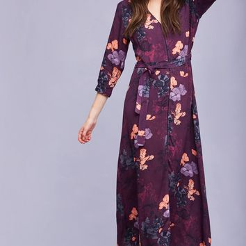 Tianna Crepe Maxi Dress, Navy