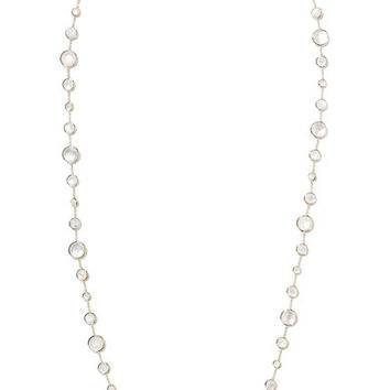 Ippolita - Lollipop Lollitini 18-karat gold, quartz and mother-of-pearl necklace