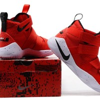Nike LeBron Soldier 11 Uni Red Basketball