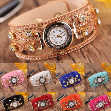 Women's Watches Rhine Diamond Hot Diamond Women's Bracelet Watch Quartz Watch