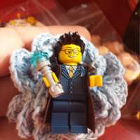 Wedding Geek Nerd Lego Style Boutonniere ~ Doctor Who ~ 10th Doctor ~ 11th Doctor ~ Whovians ~ Sonicscrewdriver
