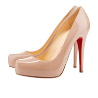 rolando 120mm nude patent leather