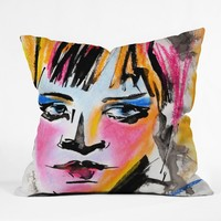 Ginette Fine Art Glances Outdoor Throw Pillow