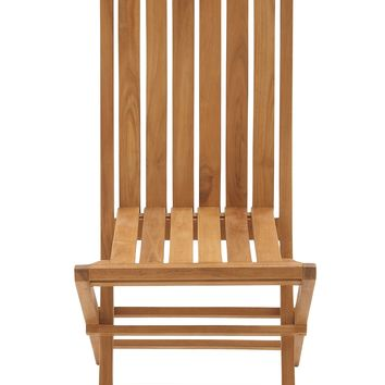 Portable and useful wood teak folding chair
