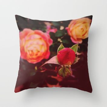 Living Color Throw Pillow by Ducky B