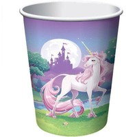 Unicorn Fantasy 9oz Cups (8 Pack) - Party Supplies