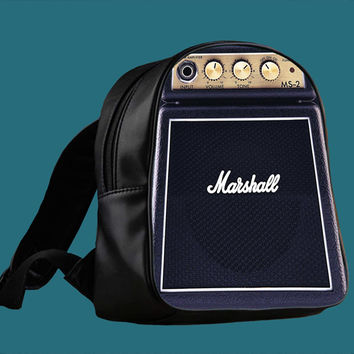 Marshall Amplifier Guitar MS-2 for Backpack / Custom Bag / School Bag / Children Bag / Custom School Bag ***