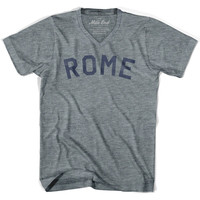 Rome City Vintage V-neck T-shirt