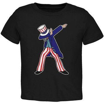 4th Of July Dabbing Uncle Sam Toddler T Shirt