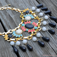 Southern Stand Out Multi-Colored Necklace