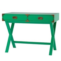 Campaign Desk (Green) in Desks | The Land of Nod