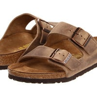 Birkenstock Arizona - Oiled Leather (Unisex) Iron Oiled Leather - Zappos.com Free Shipping BOTH Ways