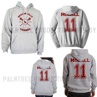 McCALL 11 Beacon Hills Lacrosse Teen Wolf Unisex Hoodie S to 3XL Scot McCall Heather Grey