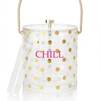 kate spade new york Raise a Glass Acrylic Ice Bucket
