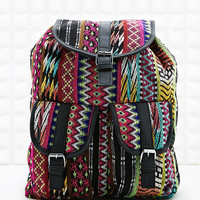 Ecote Neon Tapestry Backpack - Urban Outfitters